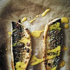 Roasted Mackerel with Garlic and Paprika Oven roasted mackerel with garlic and paprika – Gordon Ramsay Fish Recipes, Seafood Recipes, Gourmet Recipes, Cooking Recipes, Healthy Recipes, Healthy Eats, Healthy Cooking, Healthy Snacks, Chicken Recipes
