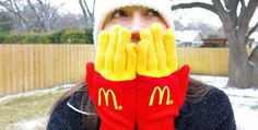 Featured Image for Turn your freezing fingers into French fries with these witty gloves
