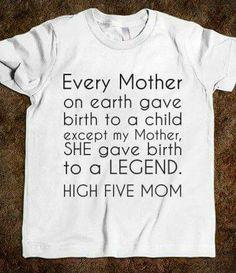 I'm a legend!