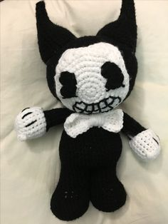 Bendy from bendy and the ink machine.
