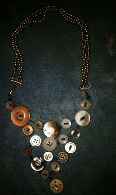 Vintage Buttons & Pearls
