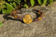 Air Nomad Bracelet from Avatar the Last Airbender by SubtleNerd, $20.00