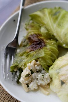 Stuffed Cabbage with Ricotta and Pine Nuts | Eats Well With Others