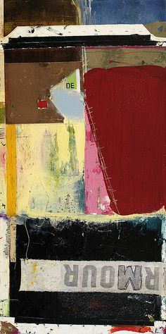 Nevermore by Michel Keck #MixedMedia on canvas http://www.therawartistgallery.com/