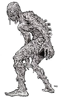 A Very Scary Zombie Coloring Page To Keep With The Halloween Theme More Great Pictures