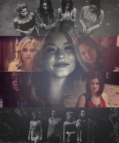 Ali Spencer Hastings aria Emily Hannah pretty little liars