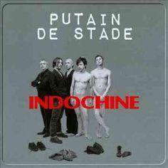 Indochine - Putain De Stade, Blue