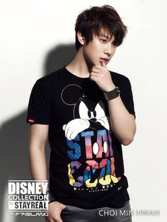 Choi Min Hwan (F.T Island) @ Disney Collection by Stay Real