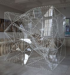Inside Outside Tree by Sou Fujimoto 2010 Commissioned by the V Sou Fujimoto, Glass Installation, Korean Art, Arch Model, Light Art, Sculpture Art, Small Spaces, Contemporary Art, Indoor Outdoor