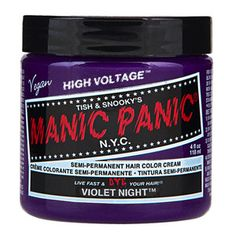 Classic VIOLET NIGHT Hair Dye Manic Panic