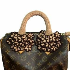 14f56843ddf0 Louis Vuitton Handle covers Speedy Alma Handmade handbag handle covers for  All Speedy Alma