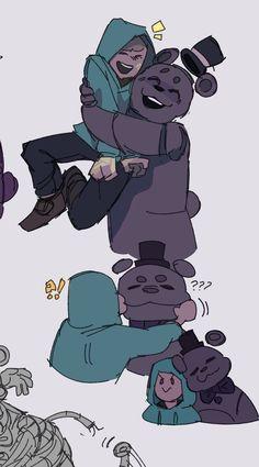 Fnaf Drawings, Cute Drawings, Fnaf Freddy, Creepypasta Cute, Rpg Horror Games, Fnaf Characters, Anime Fnaf, Spooky Scary, Art Reference Poses