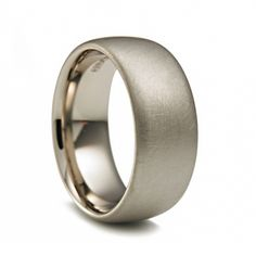 ORRO Contemporary Jewellery Glasgow - Niessing - Colour Band Wedding Ring - 18ct grey gold - wedding rings