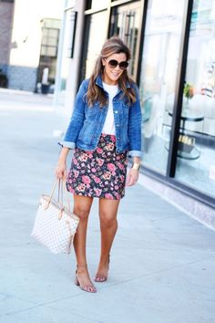 loving these chloe sunglasses, loft skirt and steve madden block heels!!