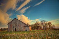 'Swept Away' ~ Awesome Missouri Sky!