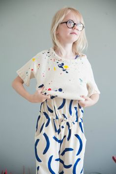 Bobo Co'lab - A Modern, Fun, Creative Collaboration - Petit & Small - kids fashion - Kids Fashion Kids, Little Kid Fashion, Amusement Enfants, Jupe Short, Indigo Children, Kid Styles, Forever Young, Look Chic, Fashion Labels