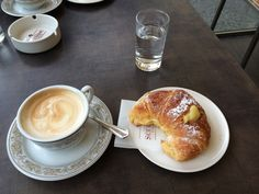 Bar Scudieri Firenze - My sister and I stood at the counter each day for a caffe and a cornetto con crema.  Absolutely worth the calories.