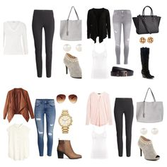 Work Wardrobe, Zodiac, Collage, Polyvore, Closet, Image, Fashion, Moda, Collages