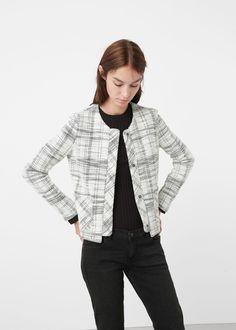 Pocket cotton jacket -  Woman | MNG Australia