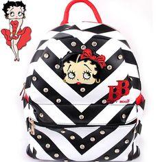 Betty Boop® Rhinestone Studded Backpack