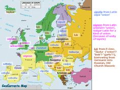 """The Geography of the """"Onion"""" Vocabulary"""
