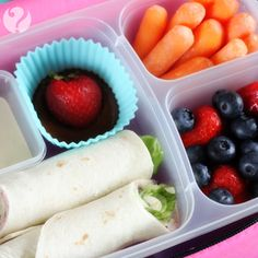 Simplify the lunch box routine with these 5 great ideas!