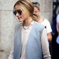 The Olivia Palermo Lookbook : London Fashion Week SS15 : Olivia Palermo at Whistles