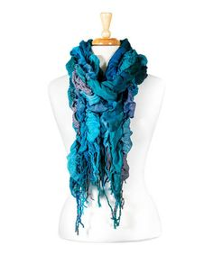 Take a look at this Green Bubble Scarf by Tickled Pink on #zulily today!