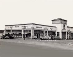 This Skillern's store was the one in Highland Park village in this photo from the 40s or very early 50s.