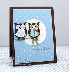 Image detail for -for this card i mainly used stampin up s two step owl extra large ...
