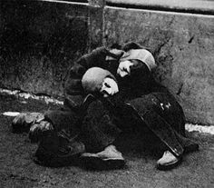 German death camp - WW2 - Shoah - The Holocaust - Children of Israel in Warsaw Ghetto