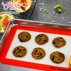 We are professional Baker-Boutique Quarter Size Silicone Baking Mat Set of 2 supplier and factory in China.We can produce Baker-Boutique Quarter Size Silicone Baking Mat Set of 2 according to your requirements. Cooking Cookies, No Bake Cookies, Silicone Baking Sheet, Bakery Supplies, Baking Utensils, Baking Tools, Bakeware, Oven Baked, Chocolate Chip Cookies