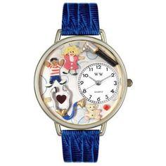 Pediatrician Watch in Silver (Large)