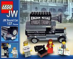 JW Soundcar Lego Set by SketchBuch on Etsy