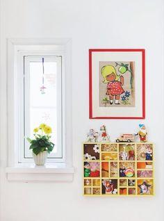En lejlighed med masser af farver - Bolig Magasinet
