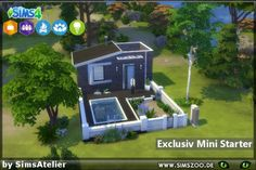Blackys Sims 4 Zoo: Exclusiv Mini Starter by Sims Atelier • Sims 4 Downloads