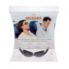 Going on holiday? The Occles travel/sleep shade will block out all light when you're in need of a rest, perfect for flying. It can also help with dry eye symptoms from air conditioning on flights.