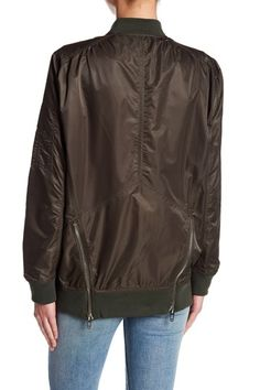 Nylon Bomber Jacket by BLANKNYC Denim on @nordstrom_rack