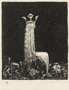 John Bauer - Lithograph (1915)