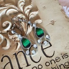 beautifull earrings silver tone New, never used Accessories