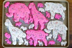 Jumbo animal cookies. Uh heck yes please! Reminds me of those cookies I use to eat when I was a kid.
