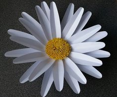 Amanda Giant Paper Flower - YouTube