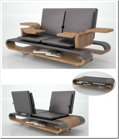 Varias posiciones #mueble_multifuncional #multifunctional_furniture