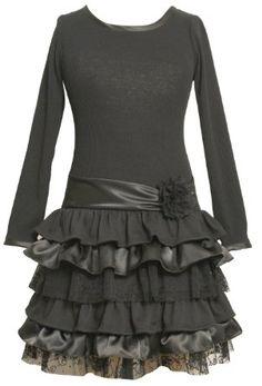 Long dress black 7s