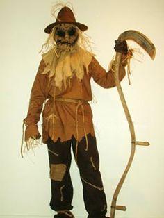 Scarecrow Halloween Costume 'How to' : www.growabrain.co.uk