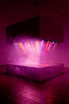 Pierre Huyghe | L'Expédition Scintillante, Act 2 (light show) | 2002 | at 'Reflections from Damaged Life', Raven Row, 2013