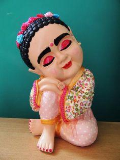 Decoupage, Folk Art, Spiderman, Buddha, Halloween Face Makeup, Diy Crafts, Dolls, Handmade, Buddhist Quotes