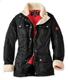 Just found this Womens Barbour Waxed Cotton Utility Jacket - Barbour® Bartlett Waxed Cotton Jacket -- Orvis on Orvis.com!