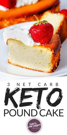Keto Pound Cake is quick, simple and low-carb amazingness. The classic cake is s. - Keto Pound Cake is quick, simple and low-carb amazingness. The classic cake is so easy to make and versatile, you can make this a happy treat for ever. Keto Cupcakes, Keto Cake, Keto Cheesecake, Gourmet Recipes, Low Carb Recipes, Dessert Recipes, Dinner Recipes, Breakfast Recipes, Healthy Recipes