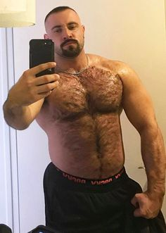Well hung muscled hairy gay men sex photos